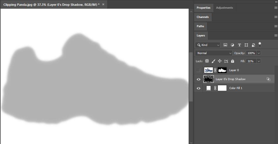 Drop Shadow Photoshop