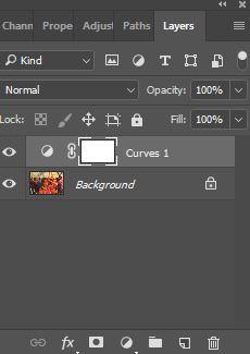 Adjustment curves layer