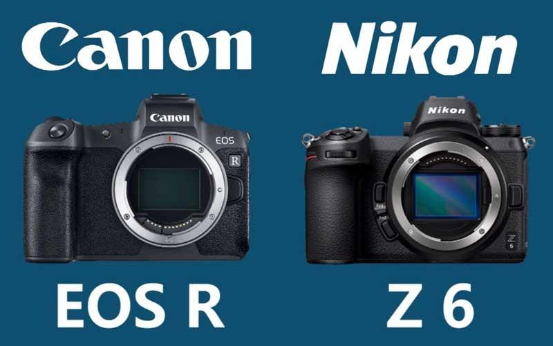 Nikon Z6 vs Canon Eos R6