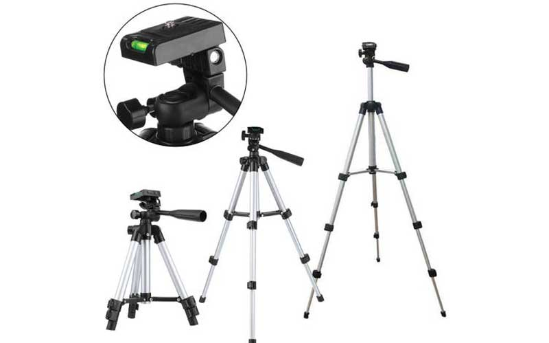 Using a tripod in photography