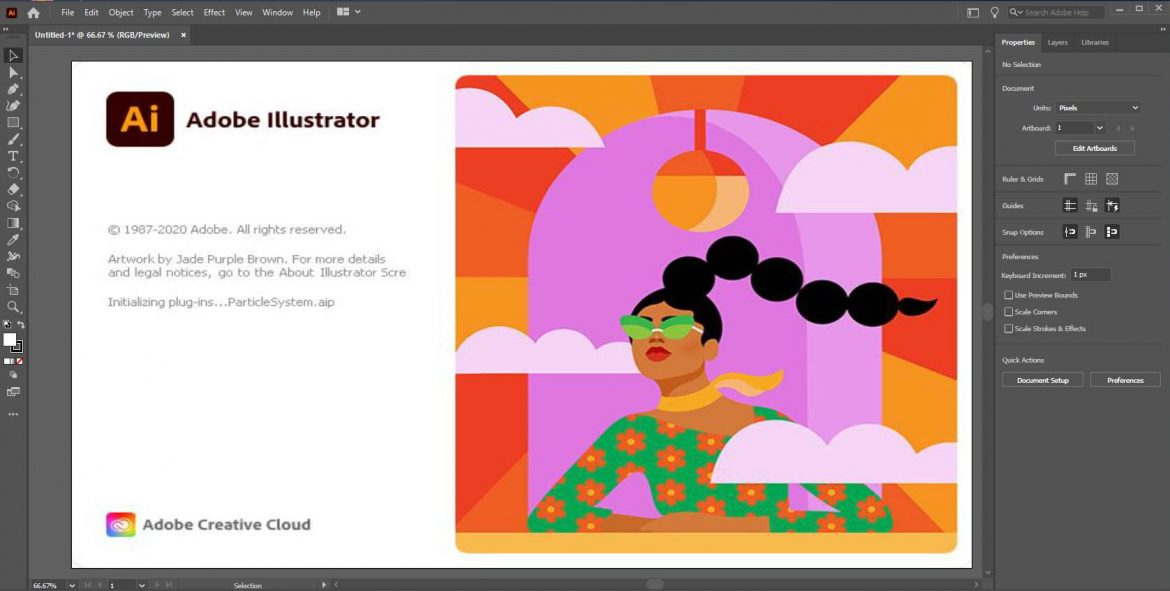 Adobe Illustrator CC 2021