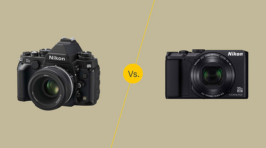 mirrorless vs DSLR size
