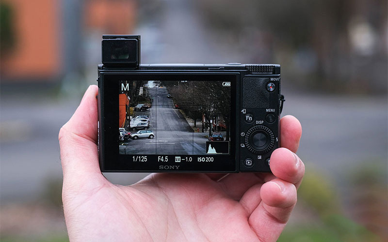 footage from a point-and-shoot camera